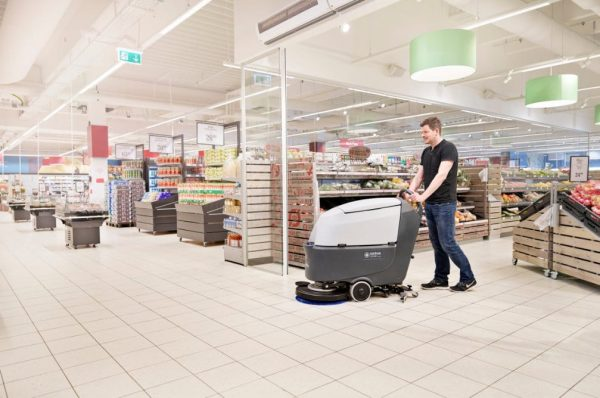 Nilfisk SC530 Go Scrubber Drier for supermarkets