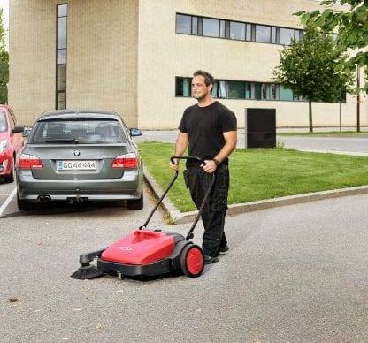 Sweeper car park