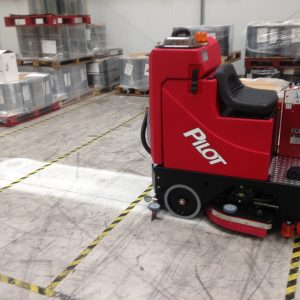 Compact Ride on Floor Scrubbers