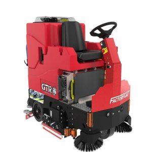 Factory Cat Heavy Duty GTR ride on scrubber drier