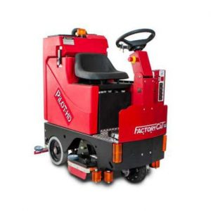 Factory Cat PILOT HD ride on floor scrubber drier