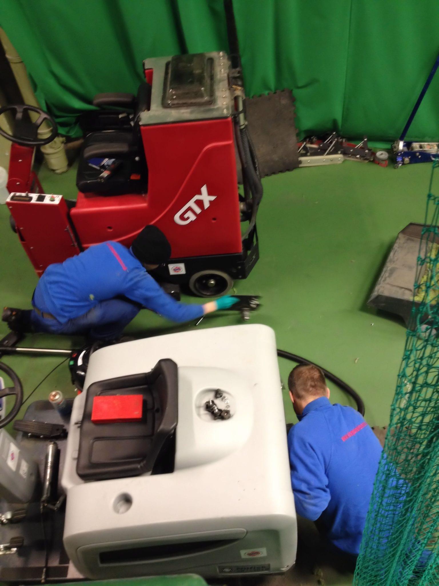 Floor cleaning machine service & repairs