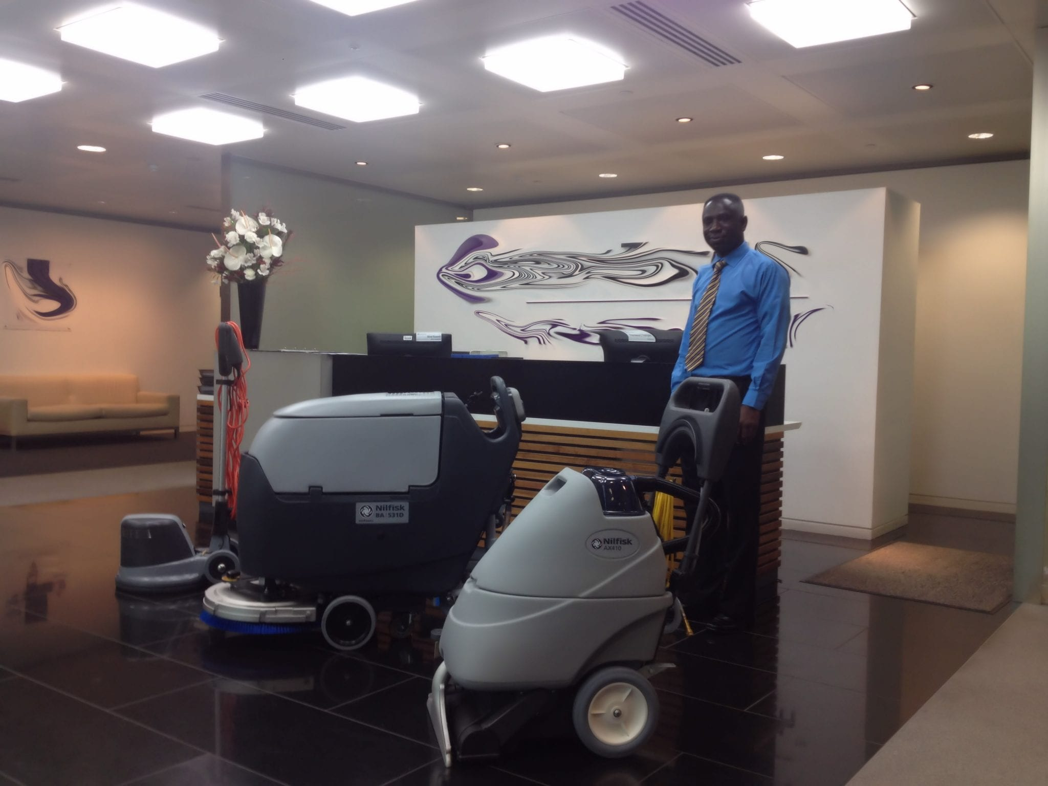 Nilfisk floor cleaning machines for sale