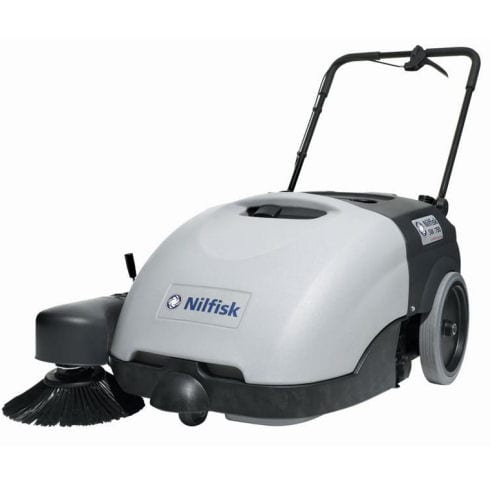 Nilfisk SW750 Pedestrian Battery Sweeper