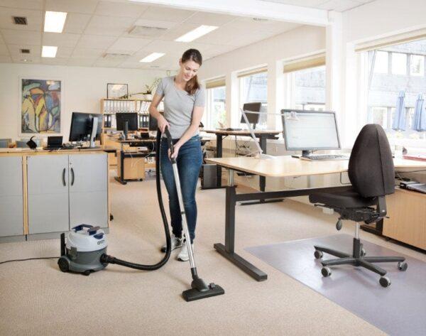 Nilfisk VP100 commercial dry vacuum cleaner