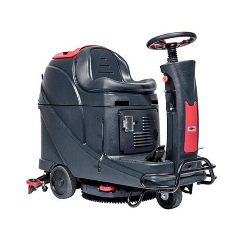Viper AS530R sit on and ride floor scrubber drier