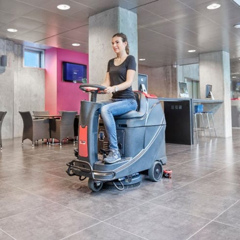 Viper AS530 R small ride on floor scrubber
