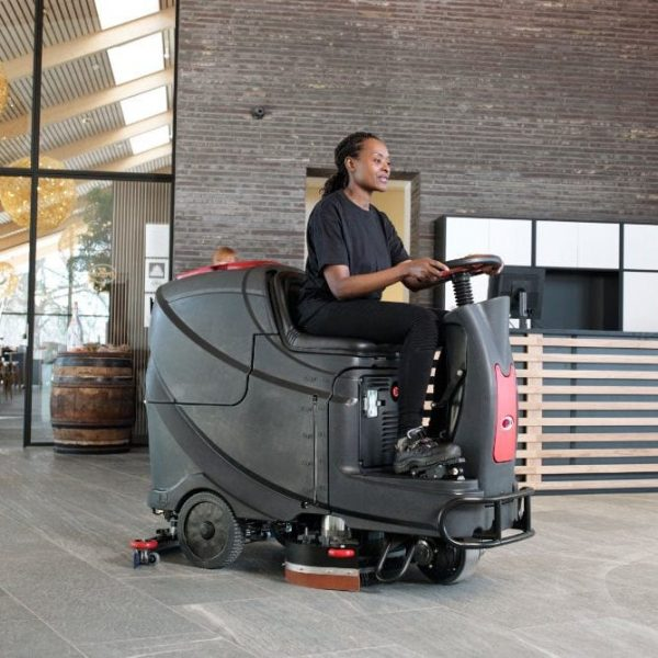 Viper AS710 R ride on floor scrubber for hard floor cleaning