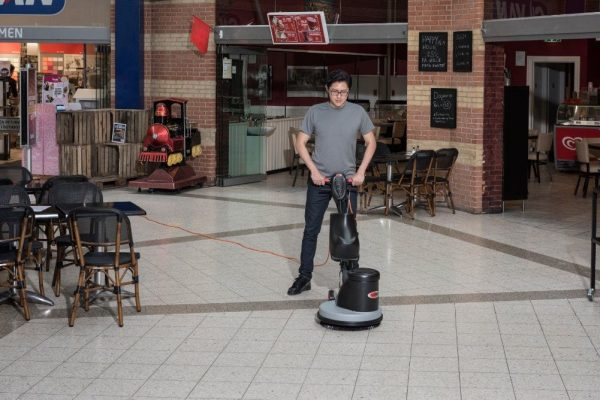 Viper DS350 dual speed cleaning machine