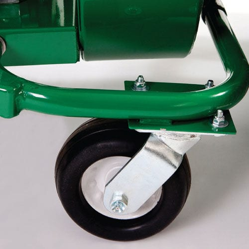 Billy Goat QV550 HSP litter vacuum castor wheels