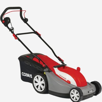 "Cobra GTRM34 13"" electric mower with roller"