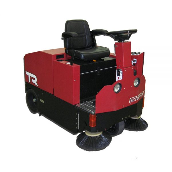 Factory Cat Model TR ride on sweeper - USA manufacture