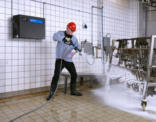 Nilfisk SC UNO pressure washer for slaughter-house cleaning