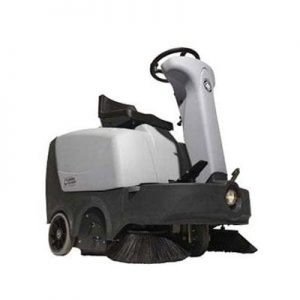 Nilfisk SR 1000 sit on and ride floor sweeper