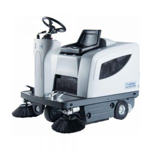 Nilfisk SR1101 ride on floor sweeping machine