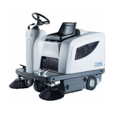Nilfisk SR1101 ride on floor sweeping machine