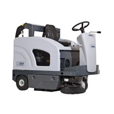 Nilfisk SW 4000 ride on floor sweeper