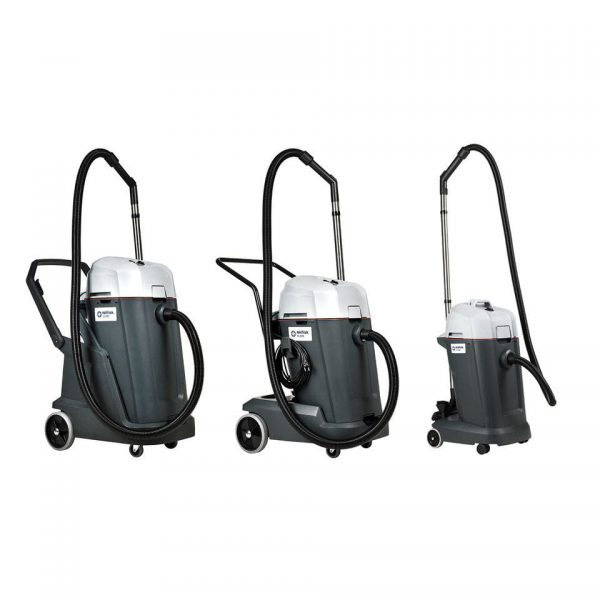 Nilfisk VL500 series of commercial wet and dry vacuums