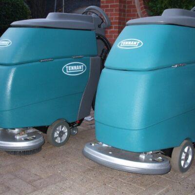 Pedestrian Scrubber Dryers