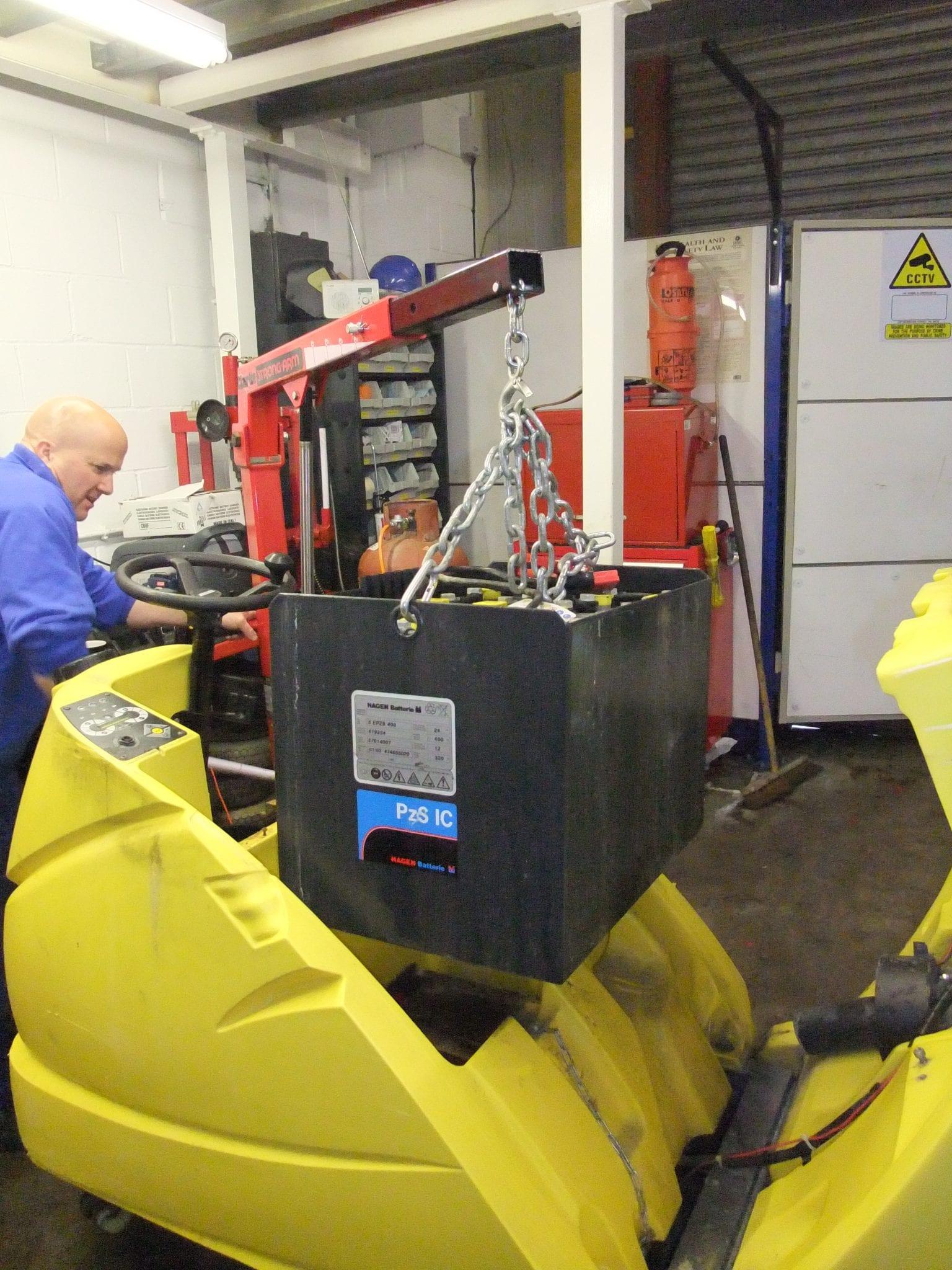 Karcher scrubber drier repairs