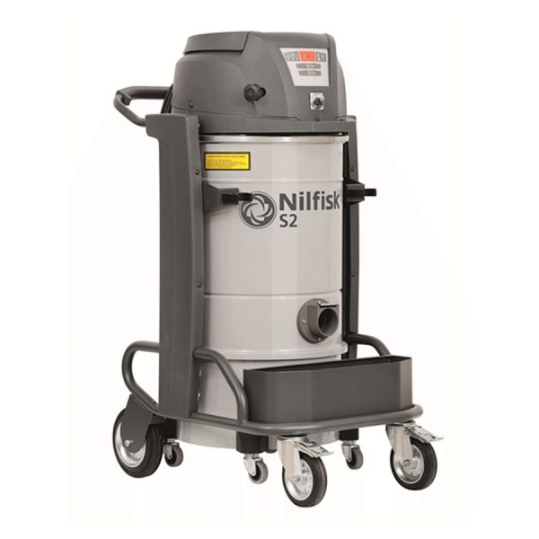 Nilfisk S2 2 motor single phase industrial vac