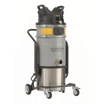 ATEX Zone 22 industrial vacuum with optional HEPA upstream filter.