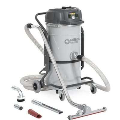 nilfisk vhs120 cb general cleaning industrial vacuum