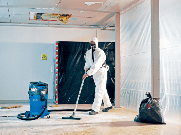 Cleanroom Vacuum with HEPA filtration