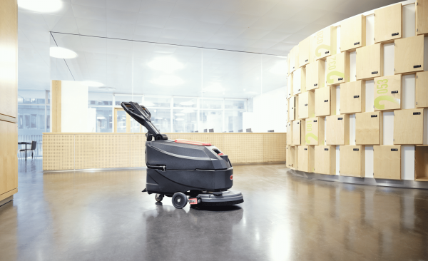 Viper AS4335C & AS4325B sxcrubber dryer cleaning office space.