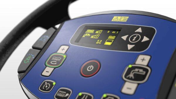 Control panel Nilfisk SC5000 floor scrubber