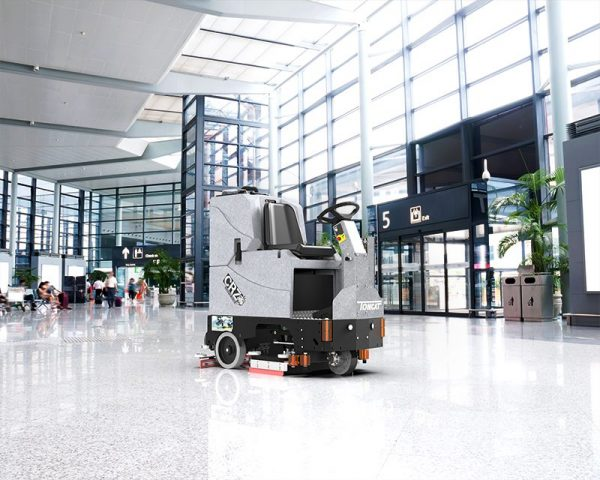 Factory Cat GTX for airport cleaning tasks